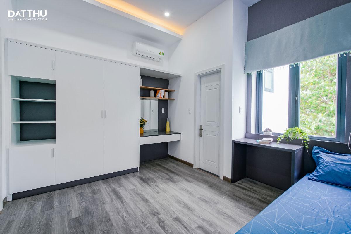 Mẫu nhà phố 2 tầng hiện đại - thiết kế phòng ngủ