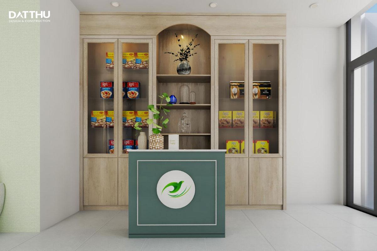 Một góc nhỏ của ngôi nhà trưng bày sản phẩm kinh doanh