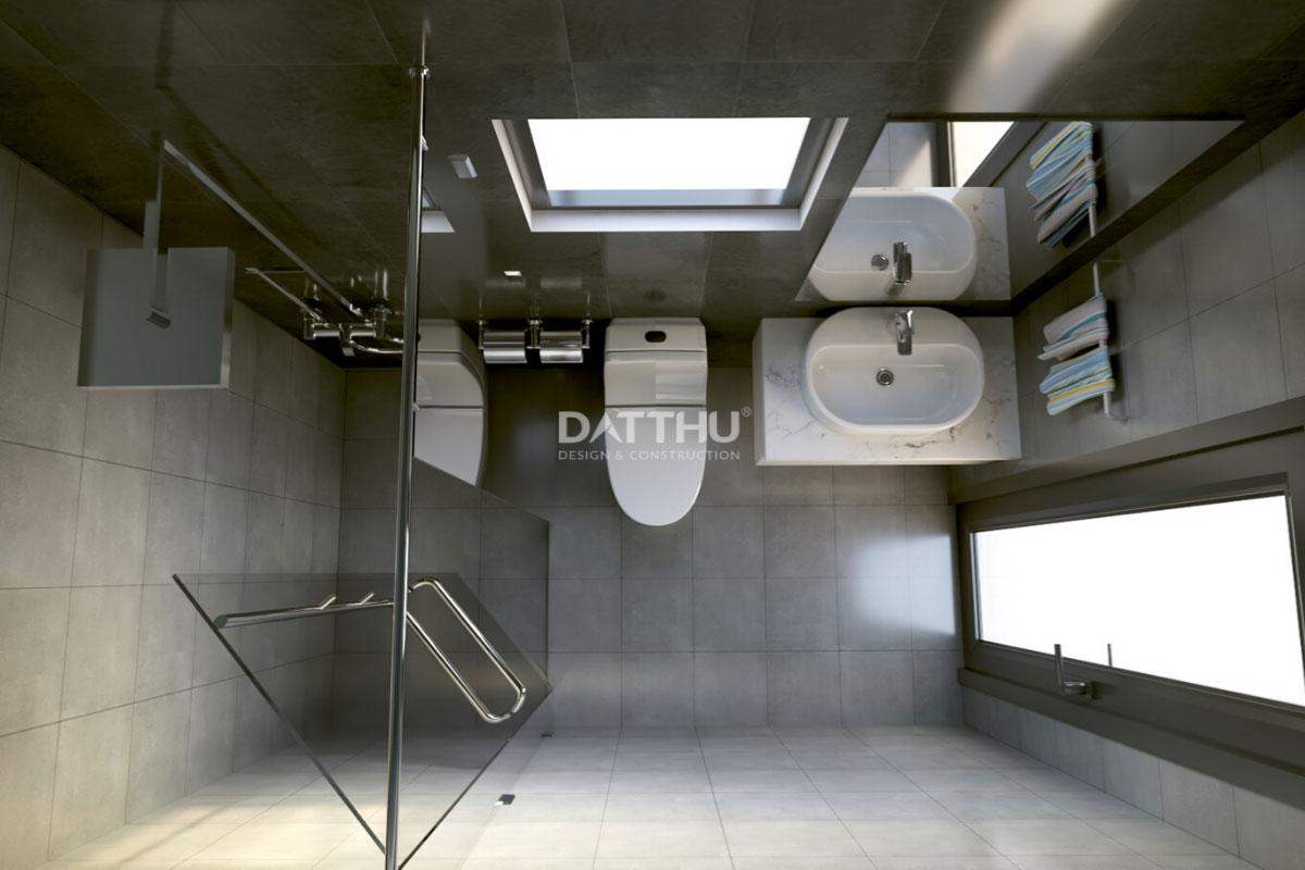 Mẫu thiết kế nhà phố 2 tầng - phòng vệ sinh