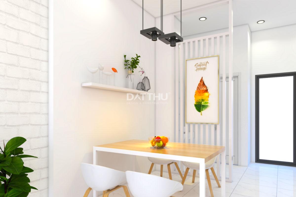 Mẫu thiết kế nhà phố 2 tầng - phòng bếp