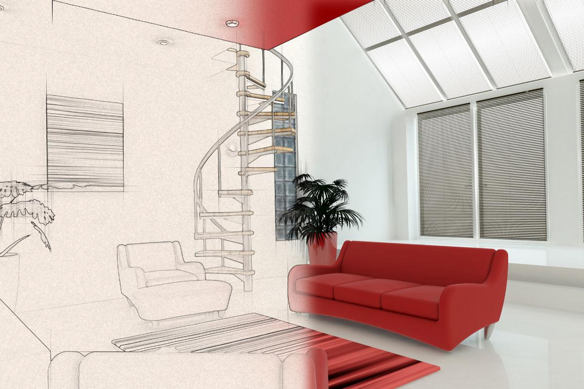 Bản vẽ thiết kế nội thất 3D