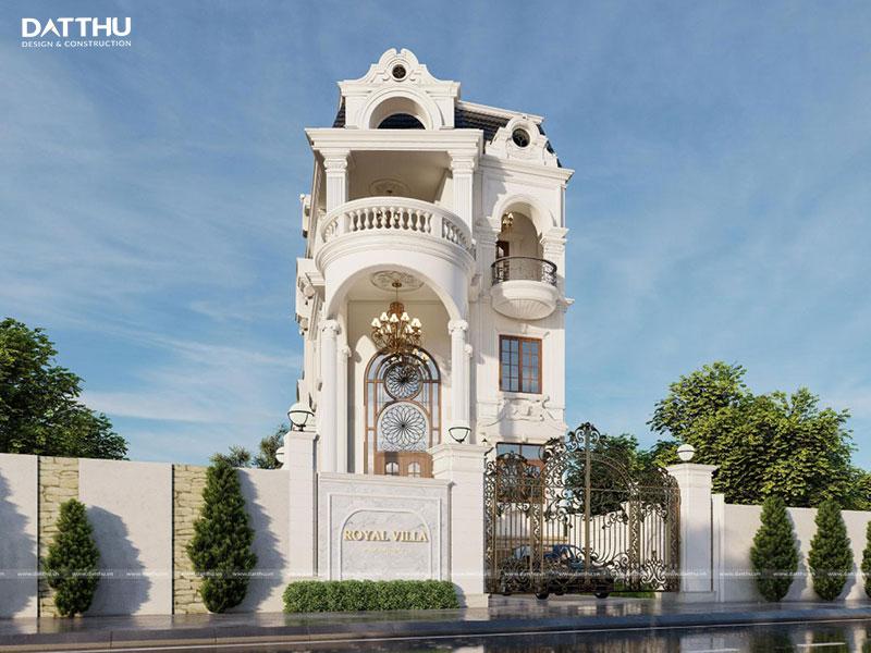 Thiết kế nhà đẹp 3 tầng