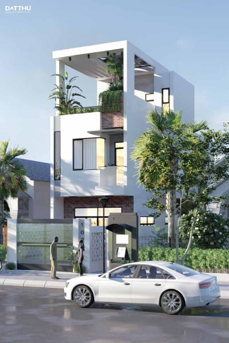 Mẫu nhà 3 tầng đẹp tại Thủ Dầu Một
