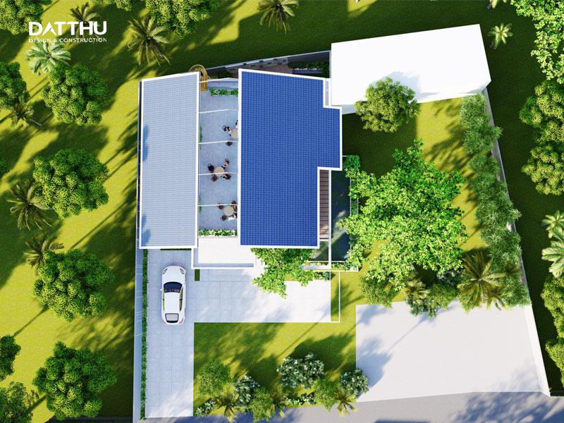 Biệt Thự Mini Sân Vườn Đẹp 381
