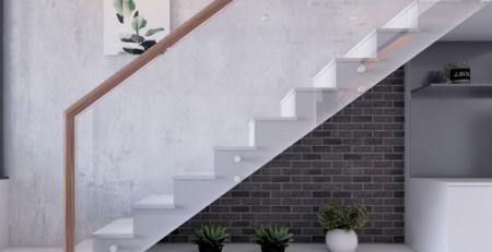 Thiết kế cầu thang nhà ống đẹp