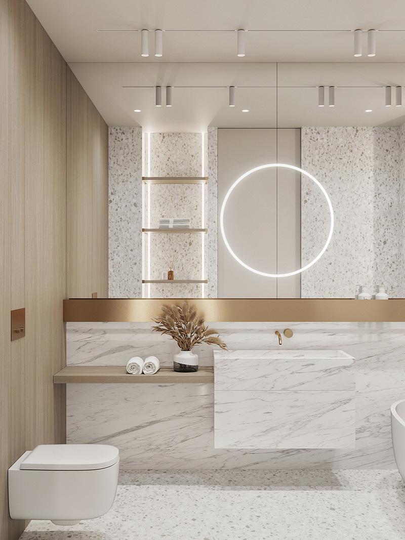 Thiết kế nhà vệ sinh cao cấp