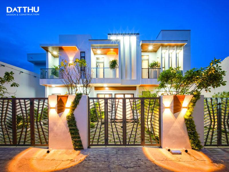 Mái bằng đẹp tạo điểm nhấn ngôi nhà