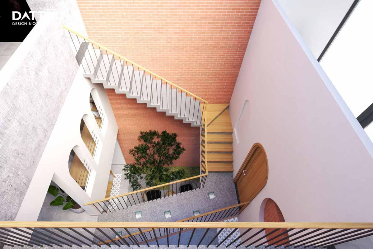 Giải pháp giếng trời cho không gian nhà phố