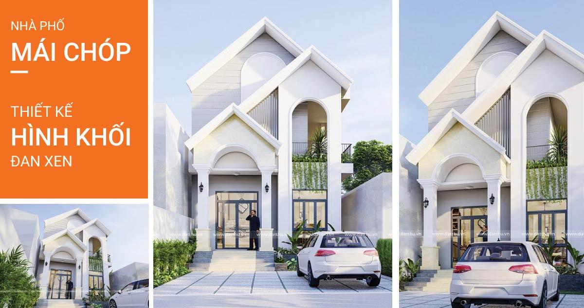 Thiết kế nhà 2 tầng tại Bình Dương