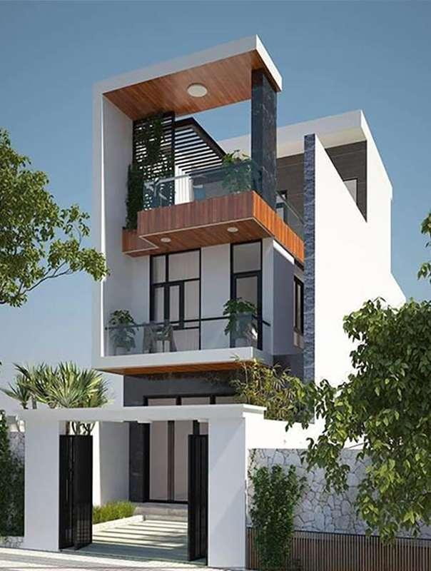 Mẫu nhà đẹp 3 tầng 5x12m ấn tượng.