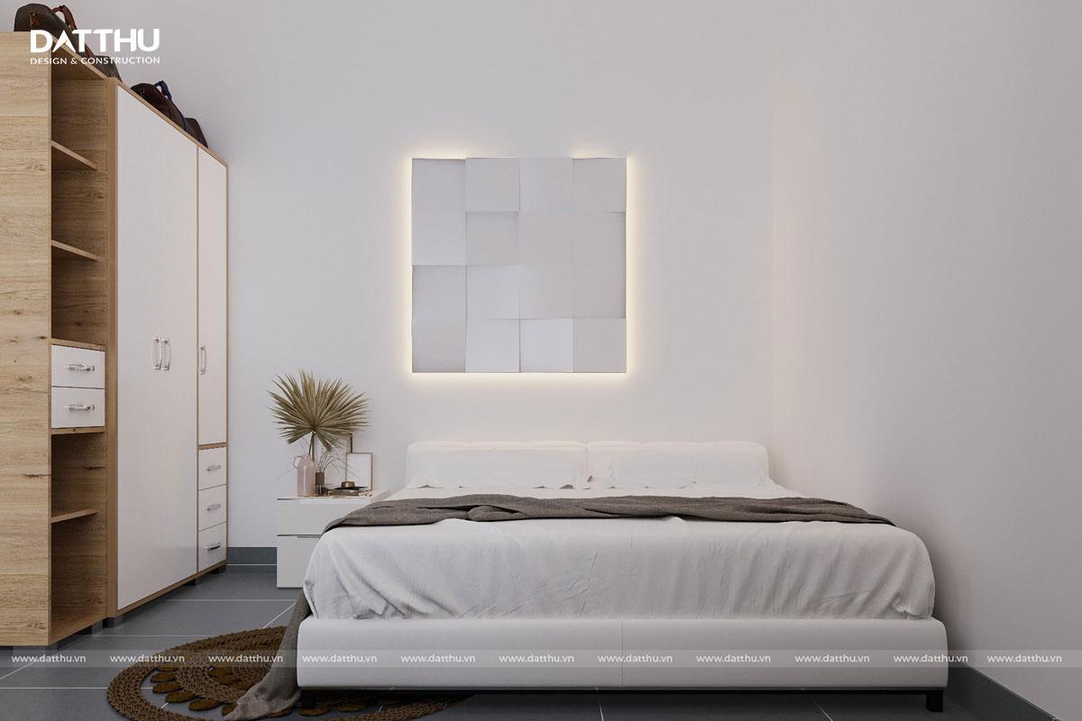 Mẫu nhà 1 tầng hiện đại - thiết kế phòng ngủ