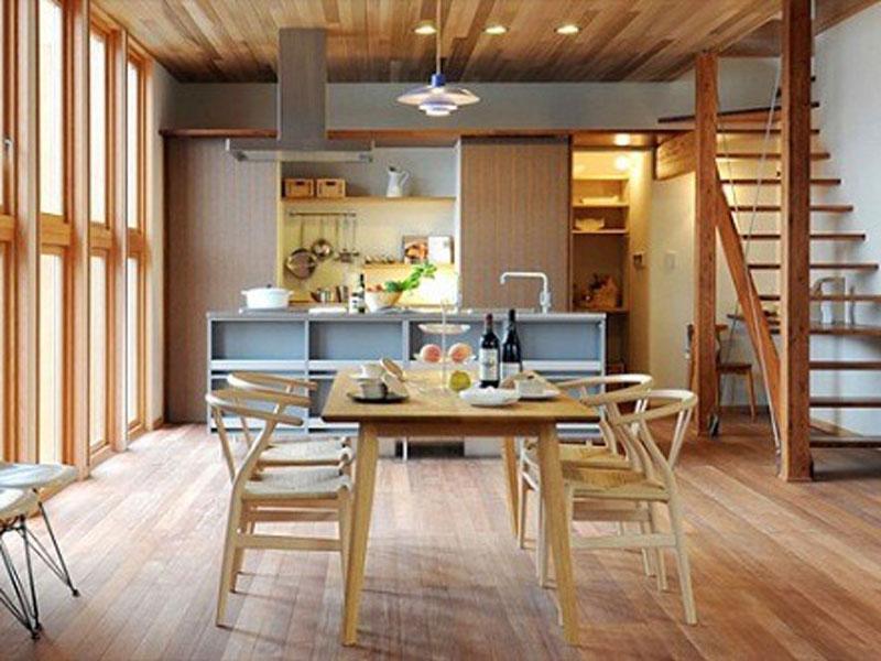 Gian bếp phong cách Nhật