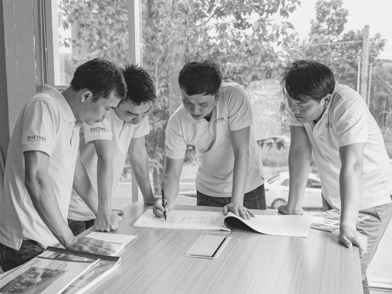 Đội ngũ kiến trúc sư giàu kinh nghiệm.