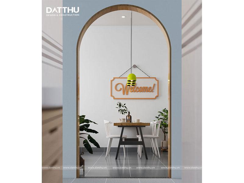 Thiết kế gương trong phòng khách