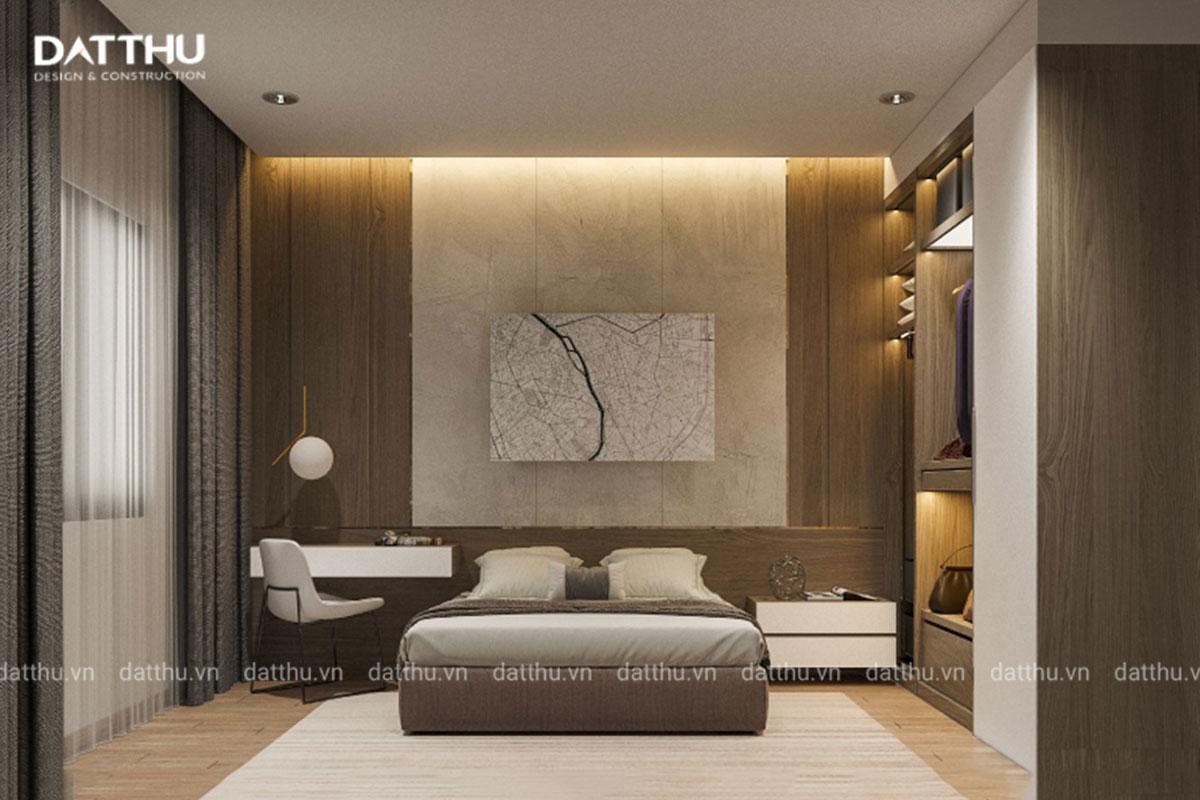 Phòng ngủ là nơi thư giãn, nghỉ ngơi cho gia chủ