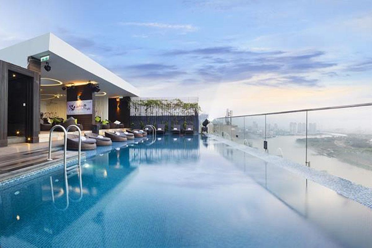 Thiết kế biệt thự có hồ bơi đẳng cấp