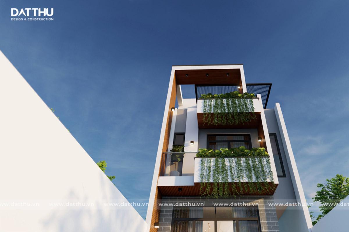 nhà phố 3 tầng TK2132 V2