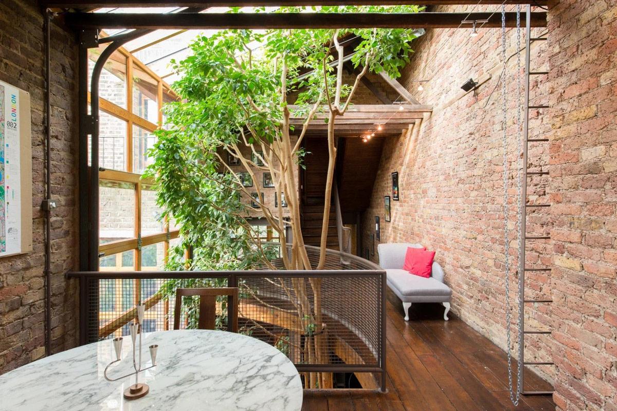 Một góc thiên nhiên trong nhà