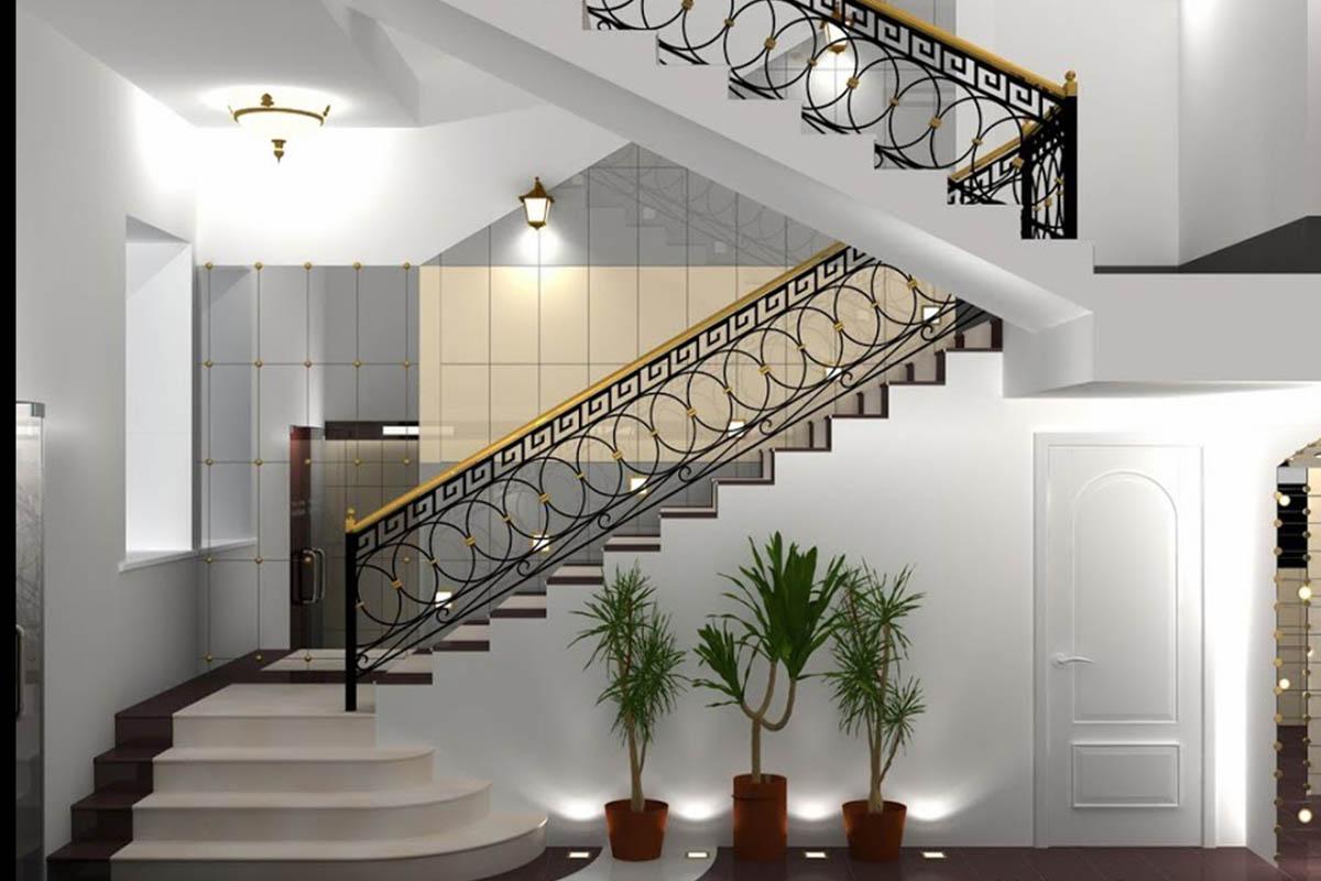 Cầu thang sắt mỹ nghệ